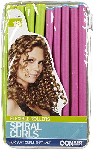 Conair Spiral Rollers 18 ct