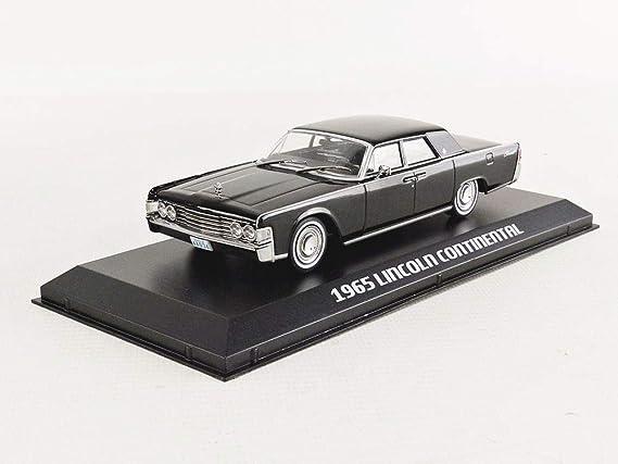 Greenlight Lincoln Continental 1965 Matrix Schwarz Modellauto 1 43 Collectibles Spielzeug