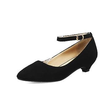 Im Frühjahr und Herbst große Schuhe satin-yards Frauen Hänge mit Frauen Schuhe, grau 34