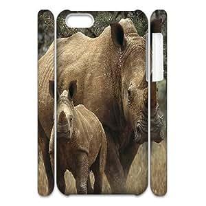 XiFu*MeiLZHCASE Design Diy hard Case Rhinoceros For Iphone 4/4s [Pattern-1]XiFu*Mei