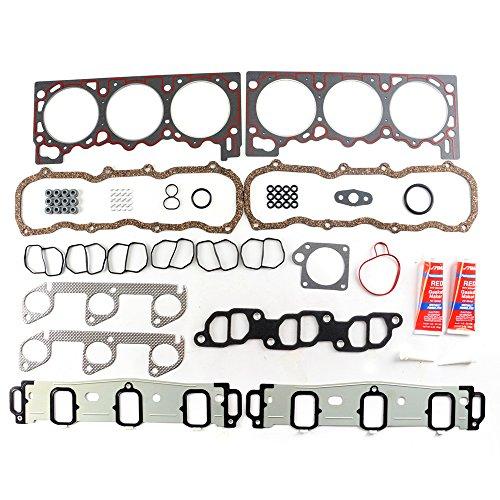 SCITOO Compatible with Cylinder Head Gasket Kits fit 97-00 Ford Explorer Ranger Mazda B4000 4.0L OHV Engine Cylinder Head Gaskets Automotive Replacement Gasket Set ()