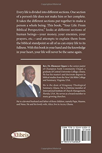 Your Life: From Biblical Perspective (Vol  1): Ebenezer