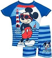 Disney Mickey Mouse Boys Mickey Mouse Two Piece Swim Set