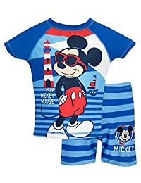 Mickey Mouse Boys' Disney Mickey Mouse Two Piece Swim Set