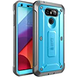 SUPCASE LG G6 Case Unicorn Beetle PRO Series Full-body Rugged Case with Built-in Screen Protector 2017 Release (Blue/Black)