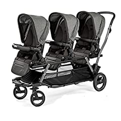 Includes Chassis & Stroller Seats Travel System Compatible - no adapters necessary Many different configurations Soft Ride wheels with ball bearings and suspensions From birth, up to 45 pounds (each child)
