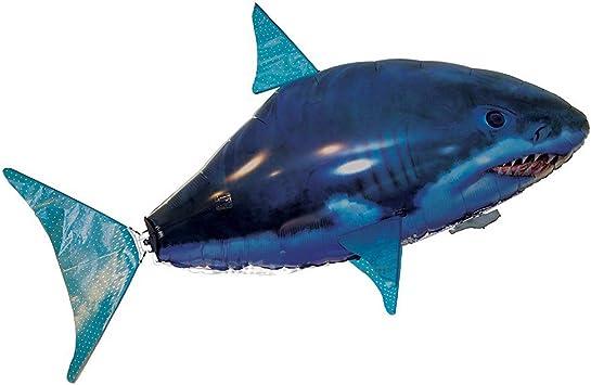 JOSE9A El tiburón Volador o pez Payaso de Control Remoto ...