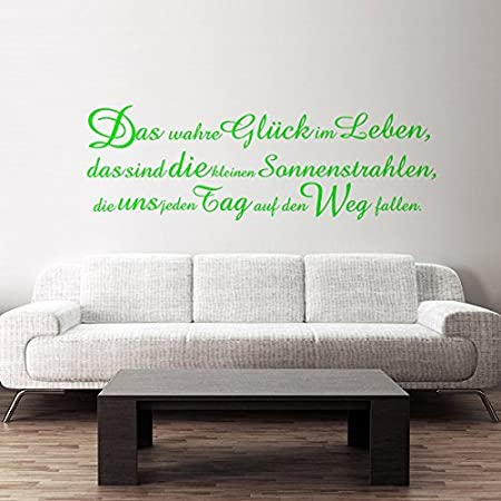 Magnificent Your Design Wall Tattoo Sticker True Gluck German Language Home Interior And Landscaping Ologienasavecom