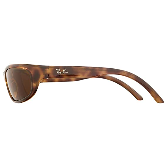 4ae0b8bd6b Amazon.com  Ray-Ban RB4033 642 73 Sunglasses Tortoise Brown Frame w  Brown  Lens   Clothing