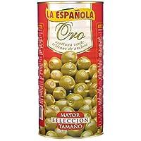 La española aceitunas verdes rellenas de anchoa oro