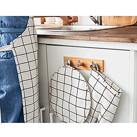 Amazon.com: Pequeño soporte para llaves para pared, ganchos ...