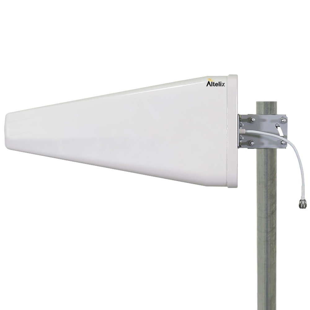 Altelix Wide Band Log Periodic Directional Antenna 698-2700MHz 12dBi 2G 3G 4G LTE WiFi N Female for 50 Ohm Cell Phone Boosters
