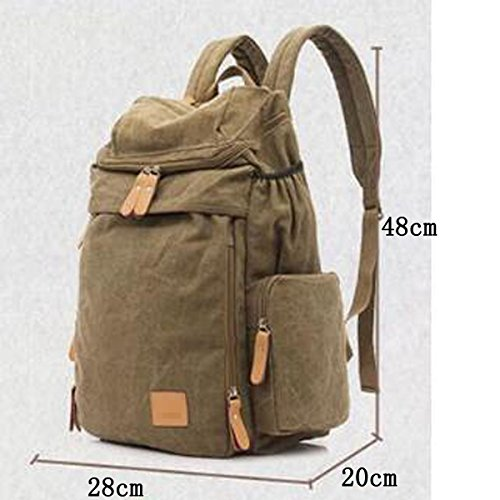 Multicolor School Backpack Bag Backpack Men Backpack Green Backpack YxtdqYwP