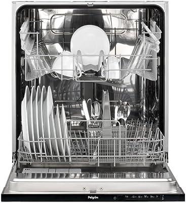 Pelgrim GVW552RVS lavavajilla Totalmente integrado 12 cubiertos A ...