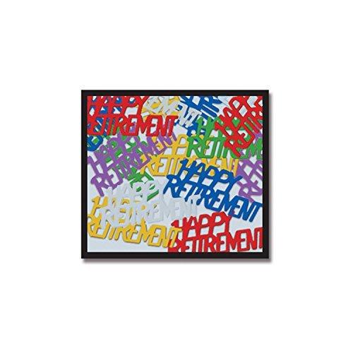 Happy Retirement Fanci-Fetti (multi-color) Party Accessory (Value - Fanci Fetti Multi Color