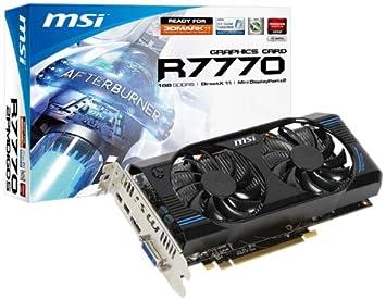 Amazon.com: MSI R7770 – 2PMD1GD5/OC R7770 tarjeta gráfica ...