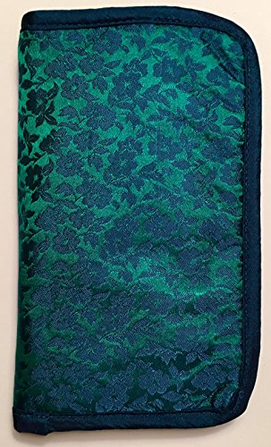 Lantern Moon Compact Zip Crochet Hook Case Turquoise Teal by Lantern Moon