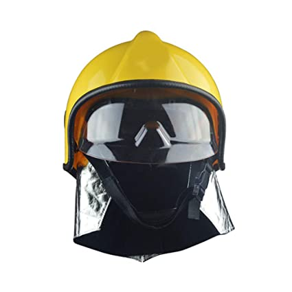 Amazon.com: Moolo Casco de seguridad contra incendios, casco ...