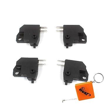 Huri 2Set/4 parte delantera bajo Kit de Micro interruptor de palanca de freno Stop