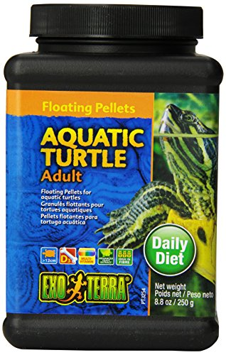 (Exo Terra Adult Aquatic Turtle Food, 8.8-Ounce)