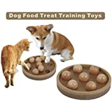 Jumbl Interactive Fun IQ Puzzle for Dogs, Cats and Pets Food Treated Wooden Toy Game