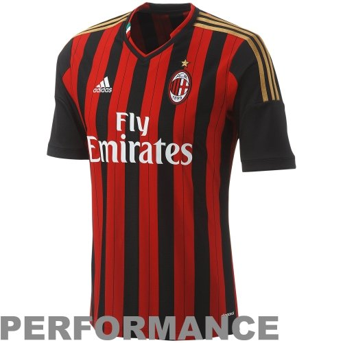 adidas AC Milan 13/14 Youth Home Soccer Jersey