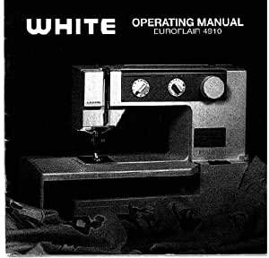Descargar Pdf-File Singer W4910 Euroflair máquina de coser: Amazon ...