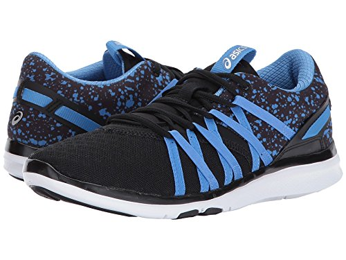 ASICS Women's Gel-Fit Yui Cross-Trainer-Shoes, Black/Regatta Blue/Silver, 10 Medium US by ASICS (Image #3)