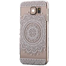 Tribal Lion Black White Totem Hard Back Case Cover for iPhone 6 Plus and 6S Plus (5.5inch)