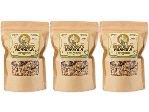 Michele's Original Granola 3 Pack – Organic, Vegan, GMO-Free, 12 Ounce Bags