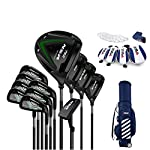 WYSTAO-Golf-Set-12-Piece-Complete-with-Complete-Set-with-Bag-GraphiteSteel-Mens-Ultra-Complete-Golf-Set