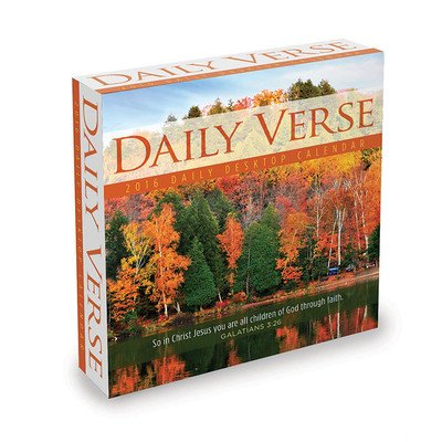 Daily Verse Desk Calendar by TF Publishing 2016