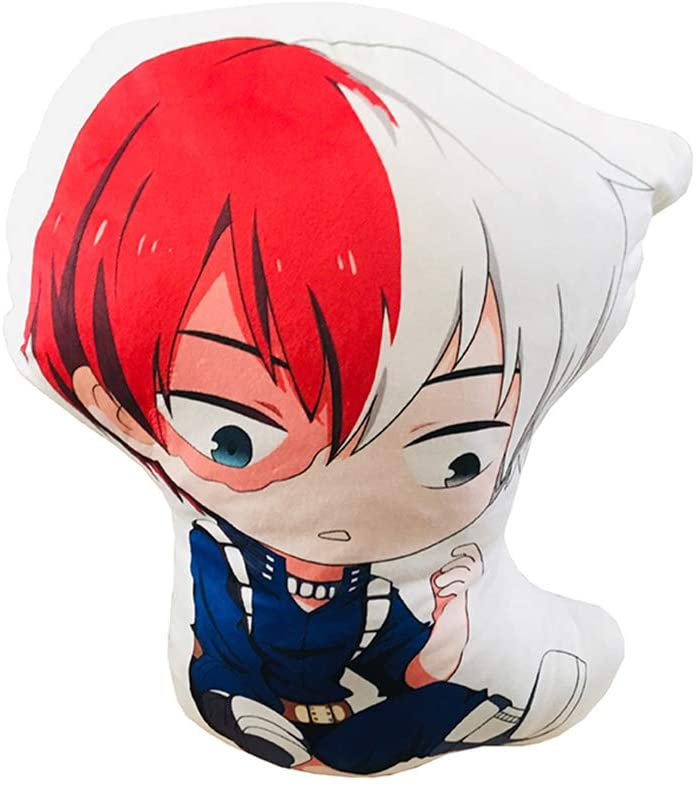 Yunhine Throw Pillow Plush Doll Gift Home Decoration Plush Soft Pillow Animation Home Bedroom Cotton Children Gifts for Both Men and Women