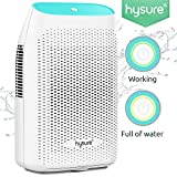 Hysure 2000ML Dehumidifier,Moisture Remover for Damp Air,Mold,Humidity in Home,Office,Basement,Bathroom,Garage