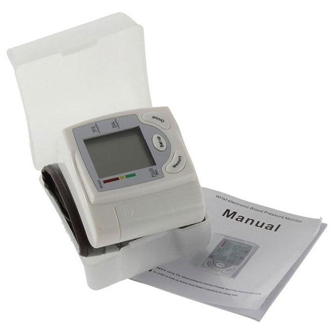 ... Sangre Impresión de Tester CE Certified Medical - Tensiómetro Salud Regalos para los Antiguos Tensiómetro Color Blanco: Amazon.es: Deportes y aire libre