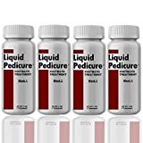 Liquid Pedicure Footbath Treatment 4 Bottles