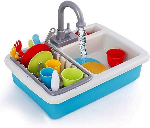 XDLH Los niños de simulación de Cocina Fregadero lavaplatos ...