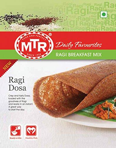 MTR Ragi Dosa Breakfast Mix 500g (1.1lb) by MTR