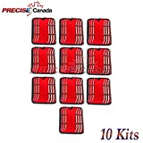 PRECISE CANADA: KITS OF 10 HANK DILATORS 6 PCS SET DOUBLE ENDED GYNO INSTRUMENT