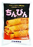 [Okinawa traditional snack] Chinbin mix (Okinawa-style sugar-filled crepe dedicated powder) 350gX5 bags