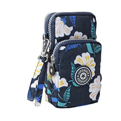 Waterproof Nylon Handbag Shoulder Diagonal Bag Messenger Slate (Handbags Fabric Slate)