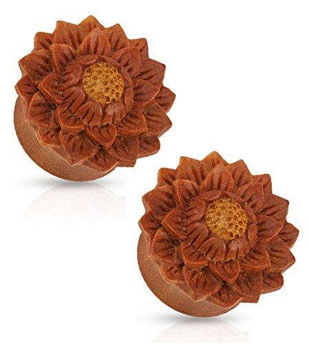 Lotus Flower Hand Carved Organic Jackfru - Organic Ear Plugs Shopping Results