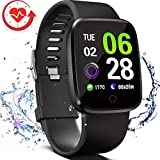 Best fitbit Blood Pressure Monitors - FITVII E-Pro Smart Watch, Fitness Tracker with Multifunctional Review