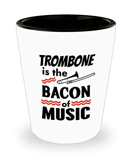 Funny Gift for Trombone Player Or Lover - The Bacon Of Music 3713af9f23bf