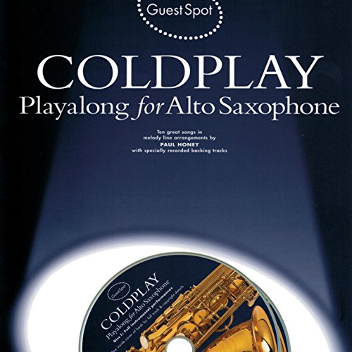 Backing Saxophone Tracks (Playalong for Alto Saxophone: Coldplay)