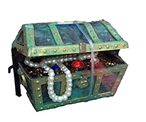 Generic air operated titanic action ornament for Fish tank treasure chest