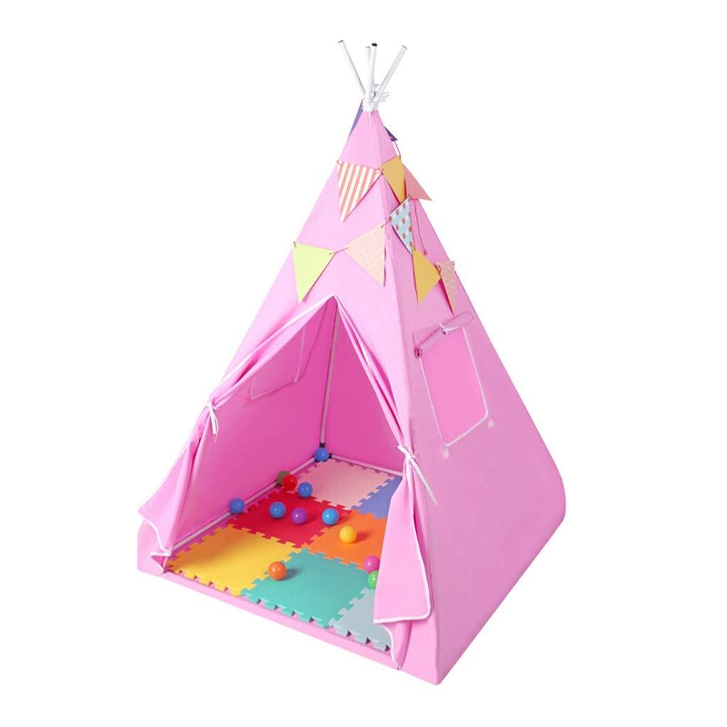 屋内用キッズテント 子供のテント屋内屋外女の子小さなテントホームインドテントプリンセスルームテントピンク (Color : Pink) B07T7GF2NS Pink