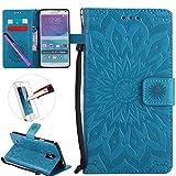 Best Case Galaxy Note 4s - Samsung Note 4 Case, ISADENSER Leather Folio Flip Review