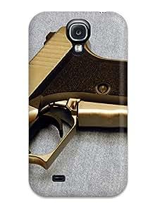 Premium Durable Gun Fashion Tpu Galaxy S4 Protective Case Cover