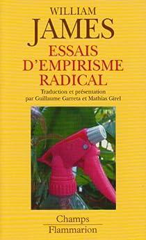 Essais d'empirisme radical par James